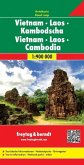 Freytag & Berndt Autokarte Vietnam, Laos, Kambodscha; Vietnam, Laos, Kamboya; Vietnam, Laos, Cambodja