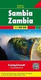 Freytag & Berndt Autokarte Sambia; Zambia; Zambie