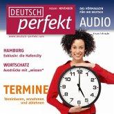 Deutsch lernen Audio - Termine vereinbaren (MP3-Download)