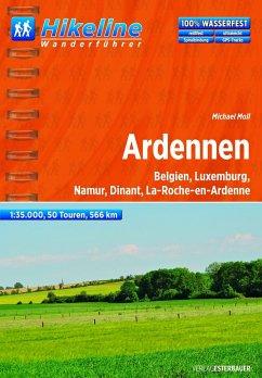 Hikeline Wanderführer Ardennen 1 : 35 000 - Moll, Michael