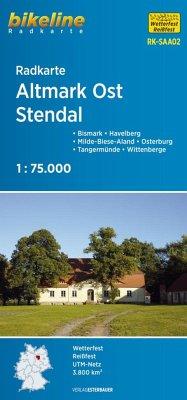Bikeline Radkarte Altmark Ost, Stendal