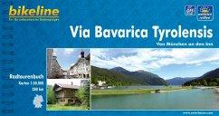 Bikeline Via Bavarica Tyrolensis von München an...