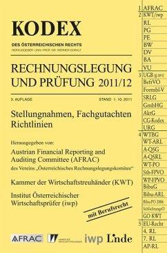KODEX Rechnungslegung und Prüfung 2011/12 [Nov 10, 2011] Doralt, Werner; Gedlicka, Werner; Knotek, Markus und Bakel-Auer, Katharina van