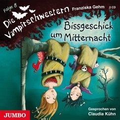 Bissgeschick um Mitternacht / Die Vampirschwestern Bd.8 (2 Audio-CDs)