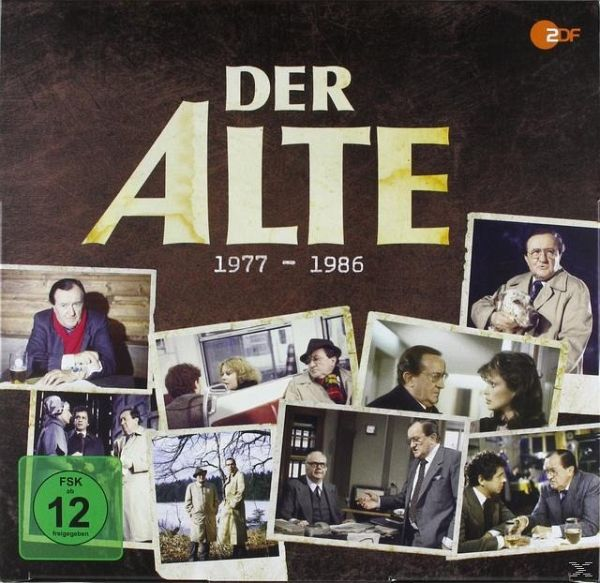 der alte siegfried lowitz box 1977 1986 39 discs film auf dvd. Black Bedroom Furniture Sets. Home Design Ideas