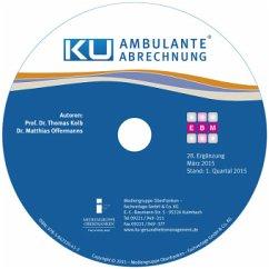 Ambulante Abrechnung, CD-ROM