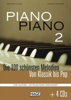 Piano Piano 2 mittelschwer + 4 CDs