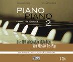 Piano Piano 2 mittelschwer CD-Paket mit 4 CDs