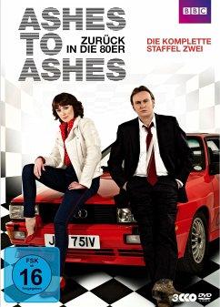 Ashes to Ashes - Zurück in die 80er, Die komplette Staffel Zwei (3 Discs) - Glenister,Philip/Hawes,Keeley/Anrews,Dean