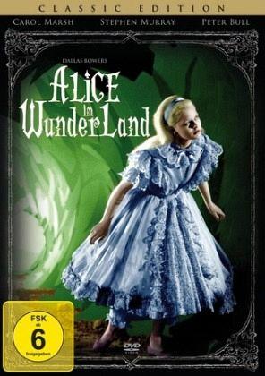 alice im wunderland auf dvd portofrei bei b. Black Bedroom Furniture Sets. Home Design Ideas