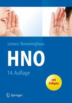 Hals-Nasen-Ohren-Heilkunde - Lenarz, Thomas; Boenninghaus, Hans-Georg