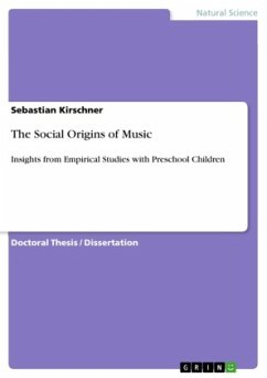 The Social Origins of Music