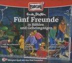 3er Box Fünf Freunde in Höhlen und Geheimgängen / Fünf Freunde Bd.65/73/81 (3 Audio-CDs)