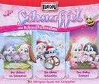 Schnuffel und Schnuffelienchen - Knuddelbox, 3 Audio-CDs