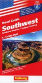 Southwest, Southern Rockies, Canyon Country Straßenkarte 1:1 Mio, Road Guide Nr. 6