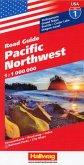Pacific Northwest Straßenkarte 1:1 Mio. Road Guide Nr. 1