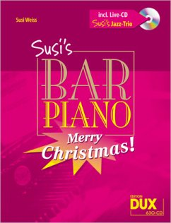 Susi´s Bar Piano, Merry Christmas!, m. Audio-CD