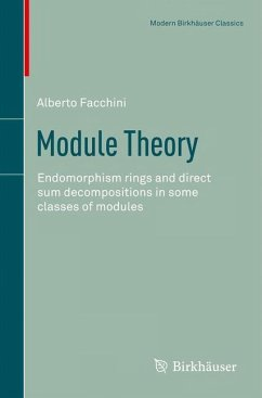 Module Theory - Facchini, Alberto