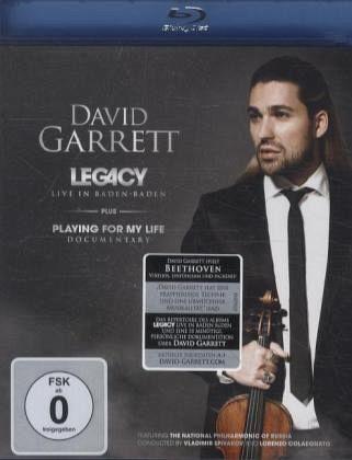 Legacy - Live In Baden-Baden (Blu-ray) - Garrett,David/Spivakov,Colad/Npr