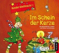 Kinderweihnacht - Im Schein der Kerze, 1 Audio-CD