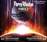 Sternenstaub & Utopie Terrania / Perry Rhodan - Neo Bd.1+2 (2 MP3-CDs)