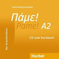 Audio-CD zum Kursbuch / Pame! Niveau.A2 - Bachtsevanidis, Vasili