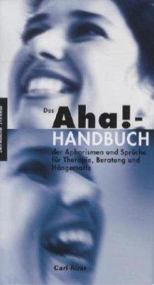 Das Aha!-Handbuch der Aphorismen und Sprüche Therapie, Beratung und Hängematte - Trenkle, Bernhard