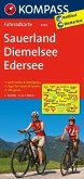 KOMPASS Fahrradkarte Sauerland - Diemelsee - Edersee / Kompass Fahrradkarten