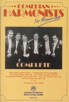 Comedian Harmonists, für Männerchor, Complete