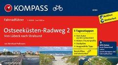 Ostseeküstenradweg 2, von Lübeck nach Stralsund - Pollmann, Bernhard