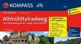 Altmühltal-Radweg von Rothenburg ob der Tauber nach Kelheim
