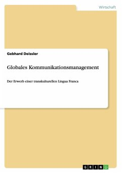 Globales Kommunikationsmanagement