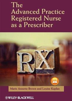 The Advanced Practice Nurse as - Brown; Kaplan