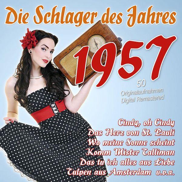 Die Schlager Des Jahres 1957 Cd Buecher De