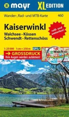 Mayr Karte Kaiserwinkl