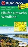 Kompass Karte Elbufer - Drawehn - Wendland