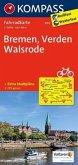 Kompass Fahrradkarte Bremen, Verden, Walsrode / Kompass Fahrradkarten