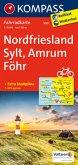 Kompass Fahrradkarte Nordfriesland, Sylt, Amrum, Föhr / Kompass Fahrradkarten