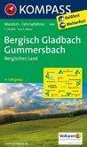 Kompass Karte Bergisch-Gladbach, Gummersbach, Bergisches Land