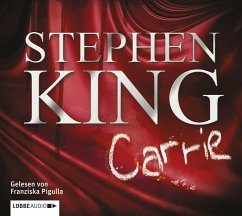 Carrie, 2 MP3-CDs - King, Stephen