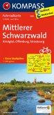 Kompass Fahrradkarte Mittlerer Schwarzwald, Kinzigtal, Offenburg, Strasbourg / Kompass Fahrradkarten