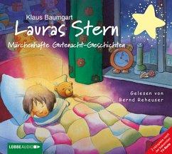 Märchenhafte Gutenacht-Geschichten / Lauras Stern Gutenacht-Geschichten Bd.8 (Audio-CD) - Baumgart, Klaus