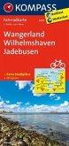 Kompass Fahrradkarte Wangerland, Wilhelmshaven, Jadebusen / Kompass Fahrradkarten