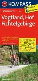 Kompass Fahrradkarte Vogtland, Hof, Fichtelgebirge / Kompass Fahrradkarten