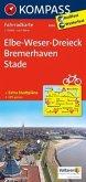 Kompass Fahrradkarte Elbe-Weser-Dreieck, Bremerhaven, Stade / Kompass Fahrradkarten