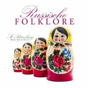 Russische Folklore, 1 Audio-CD - St. Petersburg Orchestras