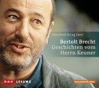 Geschichten vom Herrn Keuner, 1 Audio-CD