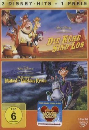 Die Kühe sind los / Die Abenteuer von Ichabod und Taddäus Kröte (2 Discs)