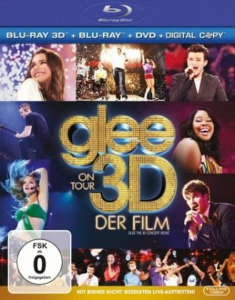 Glee on Tour - Der Film (Blu-ray 3D, + Blu-ray 2D, + DVD inkl. Digital Copy)