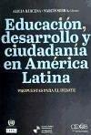 Educación desarrollo y ciudadanía en América
